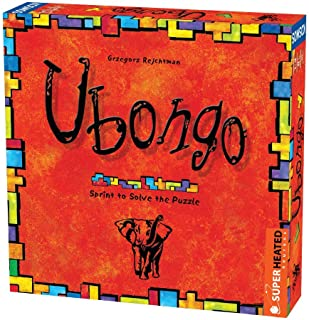 Ubongo | 1-4 Players | Official Version | English and Arabic Language | Family Game For Ages 8+ | Board Game - Puzzle | Original - Made In Germany