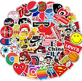 NEW KG20 100 pieces Graffiti Cool Vinyl Waterproof Funny Aesthetic for Skateboard Guitar Travel Case Sticker Laptop Luggage Car Bike Car Stickers [Non Replicable] (KG20 stickers).