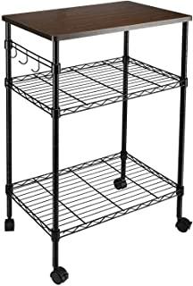 Rack 3-Tier Kitchen Utility Cart Shelves