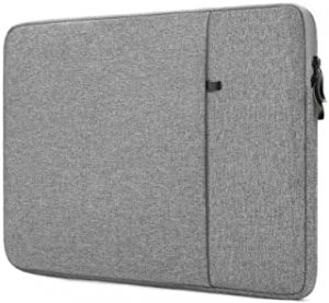 """ProElife 12-12.5 Inch Sleeve Case Cover Canvas Laptop Tablet Protective Bag for 12.3-Inch Microsoft Surface Pro 4/Pro 5 (2017)/ Pro 6 (2018-2019)/Pro 7 (2019 2020) & MacBook 12"""" Air 11.6"""" (Gray)"""