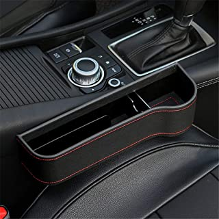 Car Side Seat Organizer For Drinks Key Wallet Phone Sunglasses