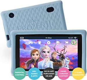 """pebble gear 7"""" Frozen 2 Kids Tablet with Child-Friendly Bumpercase"""