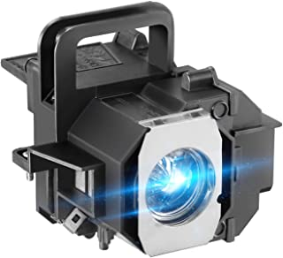 AWO Premium Projector Lamp Bulb with Housing Replacement for EPSON ELPLP49 / V13H010L49 PowerLite Home Cinema 6100/8100/8345/8350/8500UB