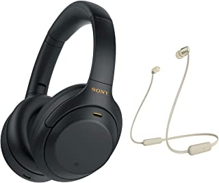 Sony WH-1000XM4 Wireless Noise Cancelling Bluetooth Over-Ear Headphones With Speak to Chat Function and Mic For Phone Call