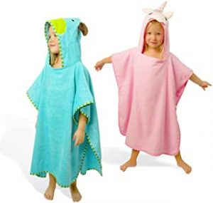 SUNSSEA Kids hooded towel 100% soft cotton