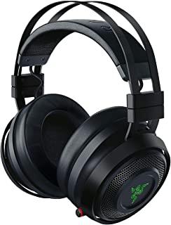 Razer Nari Ultimate Wireless 7.1 Surround Sound Gaming Headset: THX Audio & Haptic Feedback - Chroma RGB - Retractable For PC