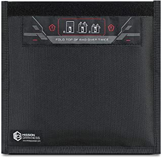 Mission Darkness Non-Window Faraday Bag for Phones // Device Shielding for Law Enforcement