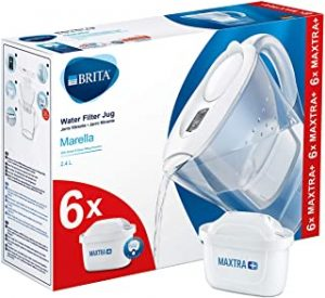 BRITA Marella Fridge water filter jug for reduction of chlorine