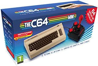 The C64 Mini Console Videogames Deep Silver (EU IMPORT) + 1 Joystick + 64 Games Pre-Installed