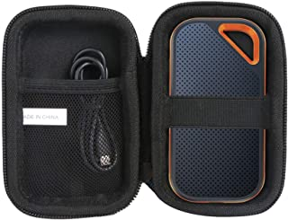 Khanka Hard Travel Case Replacement for SanDisk 250GB / 500GB / 1TB / 2TB Extreme PRO Portable External SSD