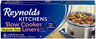 "Reynolds Kitchens Premium Slow Cooker Liners - 13 x 21"""