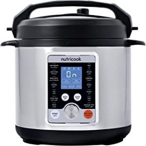 Nutricook Smart Pot Pro+ by Nutribullet 1000 Watts - 10 in 1 Instant Programmable Electric Pressure Cooker