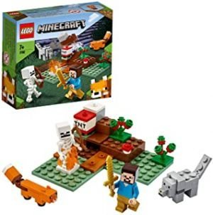 LEGO 21162 Minecraft The Taiga Adventure Building Set with Steve