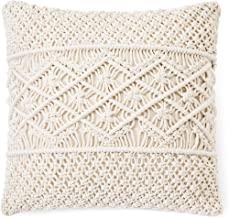 "1Pc Pillow Cover/Throw Macrame Pillow Case Decorative Cushion Cover 18"" x 18"" Bed Sofa Couch Bench Car Boho Home Decor"