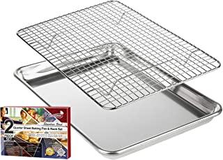 KITCHENATICS Baking Pan and Cooling Rack