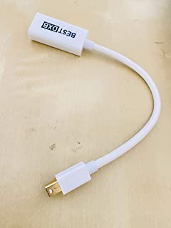 Thunderbolt Mini DisplayPort DP to HDMI AV Adapter BestDXB for Apple Macbook Pro Air Mac - White