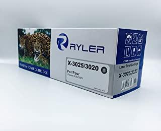 Ryler compatible Toner Cartridges for XEROX X-3025 3020-Black used in Xerox 3020 3025