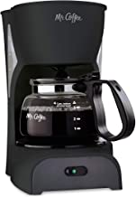 Mr. Coffee Simple Brew Coffee Maker|4 Cup Coffee Machine|Drip Coffee Maker