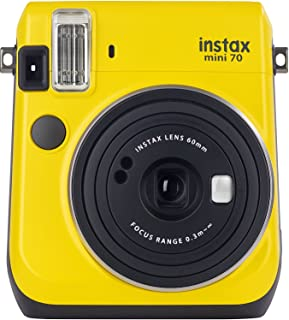 Fujifilm Instax Mini 70 Yellow Instant Film Camera
