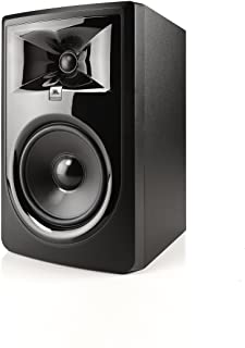 "JBL 306PMKII-UK Professional MkII Next-Generation 6"" 2-Way Powered Studio Monitor -Black (Pack of 1)"