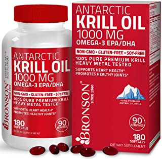 Antarctic Krill Oil 1000 mg with Omega-3s EPA