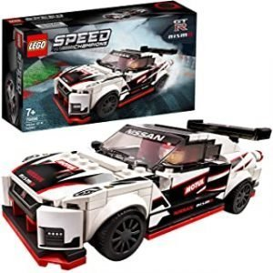 LEGO 76896 Speed Champions Nissan GT-R NISMO Racer Toy with Racing Driver Minifigure