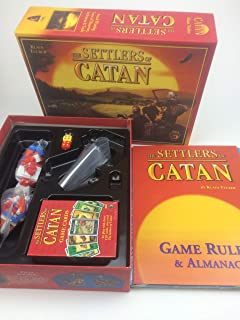 THE SETTLERS OF CATAN Catan Board Game Family Fun Playing Card Game Toys Educational Theme English Indoor Side Table Party Supplies