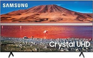 Samsung 70 Inch TU7000 Crystal UHD 4K Flat Smart TV (2020)