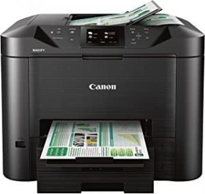 Canon Office And Business Mb5420 Wireless All In One Printer Scanner Copier And Fax With Mobile And Duplex Printing One Size black
