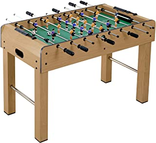 Soccer Table Foosball Football Real Wood Standing