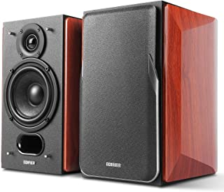 Edifier P17 Passive Bookshelf Speakers - 2-way Speakers with Built-in Wall-Mount Bracket - Perfect for 5.1