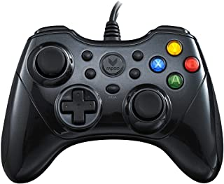 Rapoo V600 Ergonomic Vibration Shock Gaming Controller Gamepad - Black