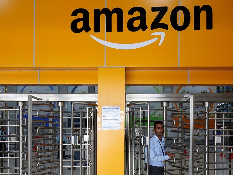 Amazon office in India