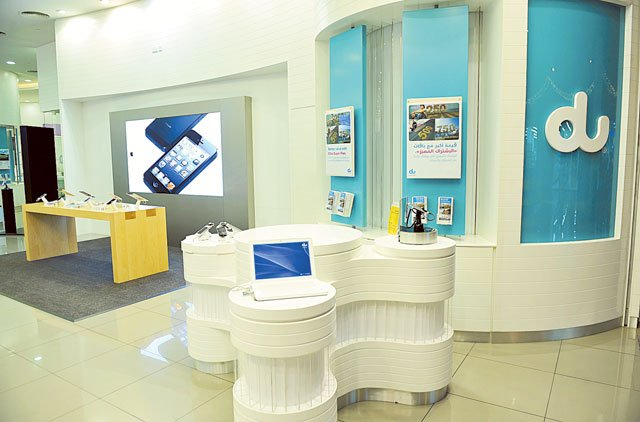 Du has become the fourth telecom operator in the world to have a dedicated Apple shop-inshop