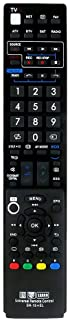 Gvirtue SH-15 Universal Remote Control Compatible Replacement for Sharp SH-15 TV/ 3D/ LCD/LED/Learn