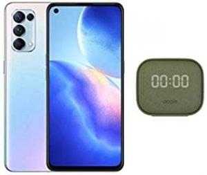 OPPO Reno5 5G Dual SIM Galactic Silver 8GB RAM 128GB 5G Smartphone With OPPO Speaker