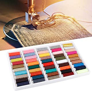 50Pcs Different Color Cotton Reels Spool Sewing Machine Thread