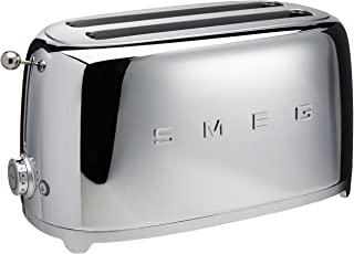 Smeg 4-Slice Toaster-Chrome