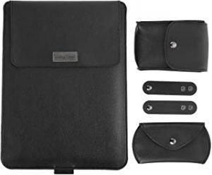 Lurrose Laptop Bracket Sleeve Laptop Liner Bag Portable Laptop Case with Stand for Computer Accessories