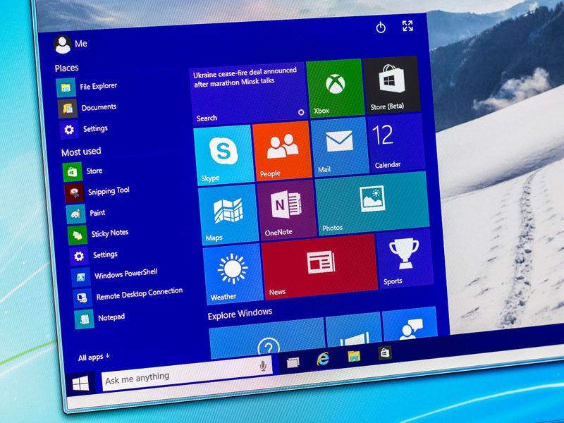 Windows 10 on a desktop PC.