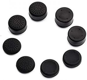 SKEIDO 8Pcs Anti-Slip Silicone Thumb Grips Thumbstick Caps Case For Joy-Con Controller Analog Cover For Nintendo Switch Console
