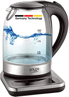Germany technology Touch control kettle base with LCD 2200W 1.7L (Adler)