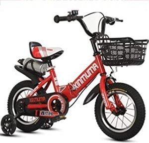 COOLBABY Kids Bike with Hand Brake and Basket for Ages 3-9 Years Girls