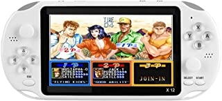 1989CANDY X12 Video Game Consoles w/Double Rocker Built-in 2500 Games (8GB)(White)