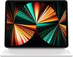 Apple Magic Keyboard (for 12.9-inch iPadPro - 5th generation) - Arabic - White