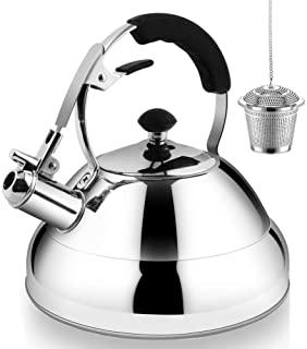 Tea Kettle Stovetop Whistling Tea Pot - 3L