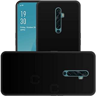 Muzz Oppo Reno 2F TPU Silicone Ultra Soft Thin Back Case Protective For Oppo Reno 2F Cover Black