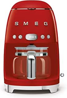 Smeg 1950's Retro Style 10 Cup Programmable Coffee Maker Machine DCF02RDUS