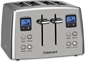Cuisinart 4-Slice Countdown Stainless Steel Toaster