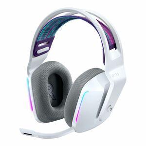 Logitech G733 Lightspeed Wireless RGB White Gaming Headset